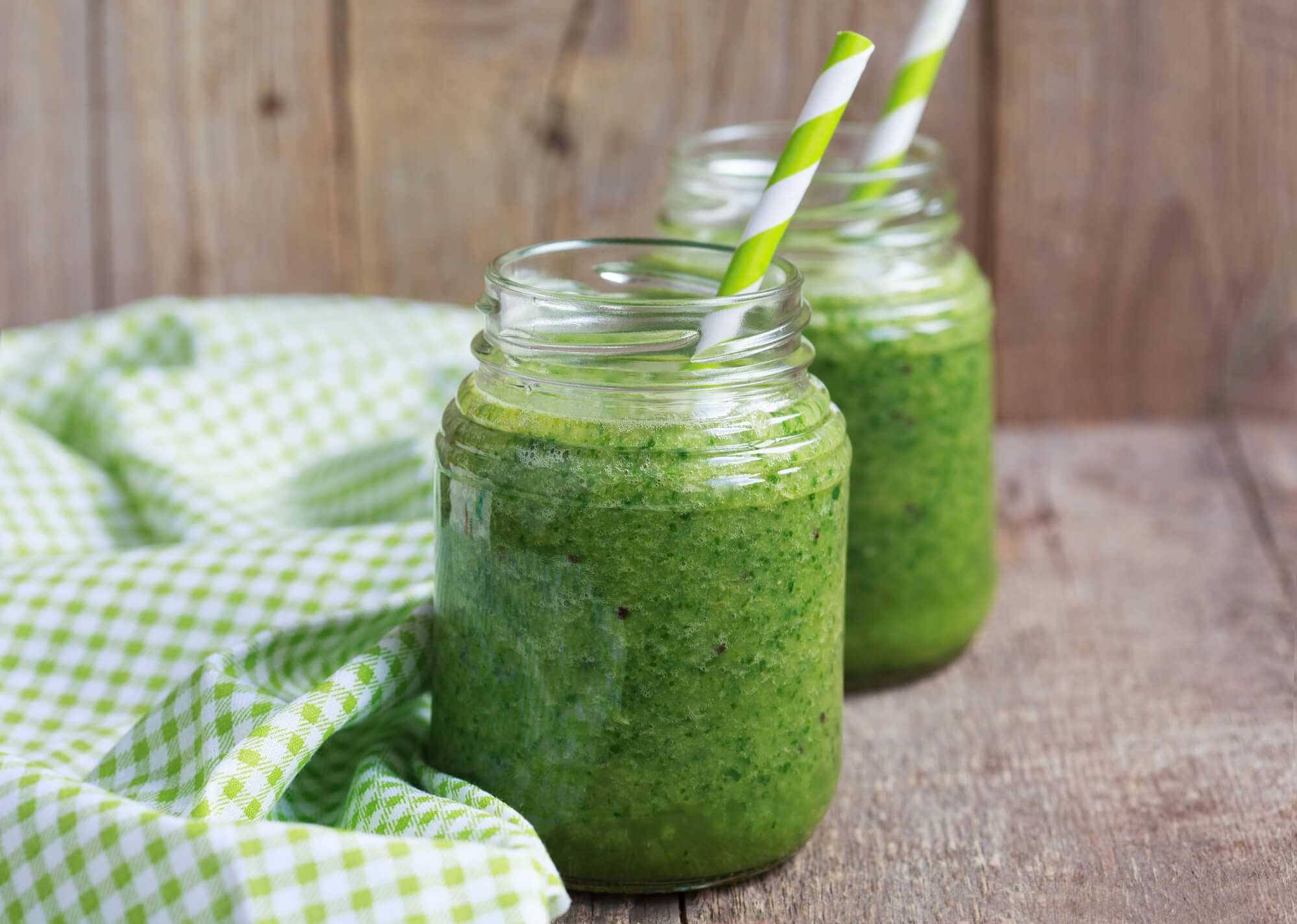 Amazing Spinach Kiwi Smoothie