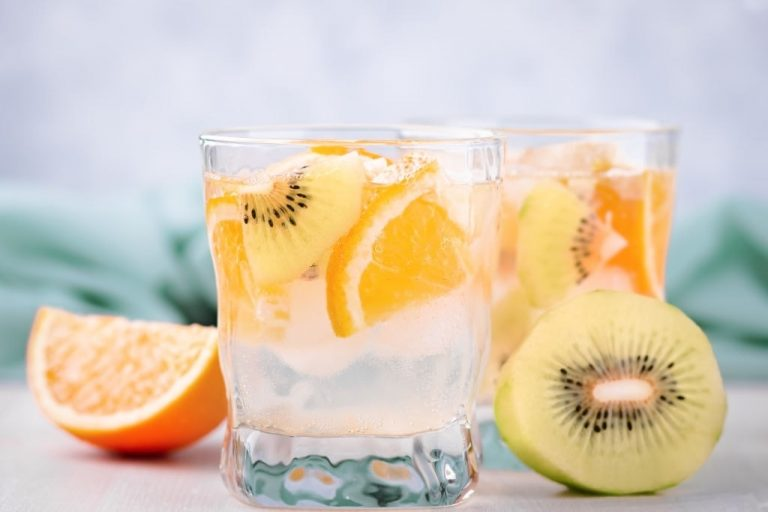 Orange Kiwi Mocktail