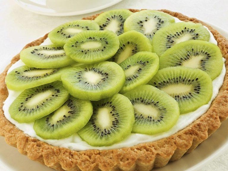 Kiwi Coconut Tart